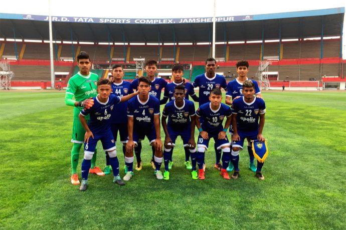 Chennaiyin FC 'B' team (Photo courtesy: Chennaiyin FC)