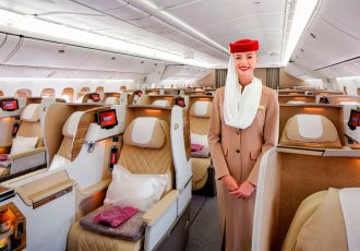 Emirates unveils more spacious Business Class seats on its Boeing 777 aircraft (Photo courtesy: Emirates)