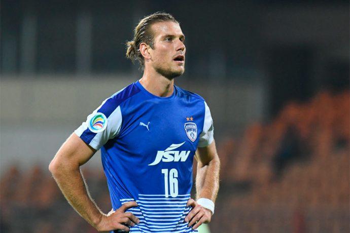 Bengaluru FC's Australian midfielder Erik Paartalu (Photo courtesy: Bengaluru FC)