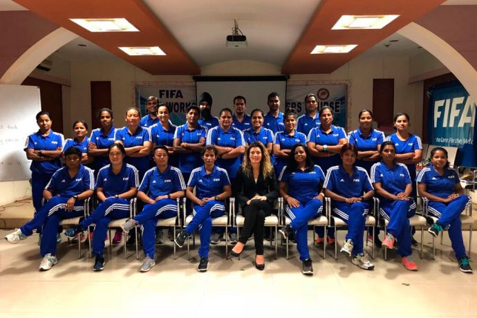 AIFF organises FIFA Refreshers Course on International Women's Day in Cuttack (Photo courtesy: AIFF Media)