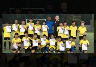 Glasgow Rangers Soccer Schools organise success coaching clinics in India