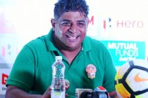 Gokulam Kerala FC's Bino George (Photo courtesy: I-League Media)