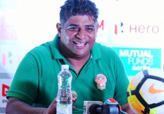 Gokulam Kerala FC's Bino George (Photo courtesy: I-League Media)