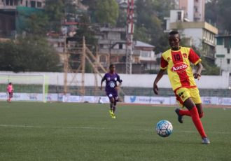 Fazila scores five goals as Gokulam Kerala FC decimate Indira Gandhi Academy for Sports & Education 6-1. (Photo courtesy: AIFF Media)