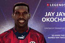 "Jay-Jay Okocha announced as new member of the ""Bundesliga Legends Network"" (Image courtesy: DFL Deutsche Fußball Liga)"