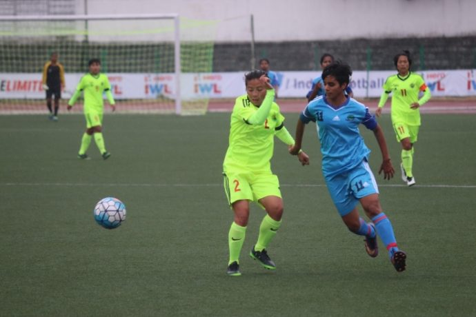 KRYHPSA held by Rising Students Club to a 1-1 draw in IWL (Photo courtesy: AIFF Media)