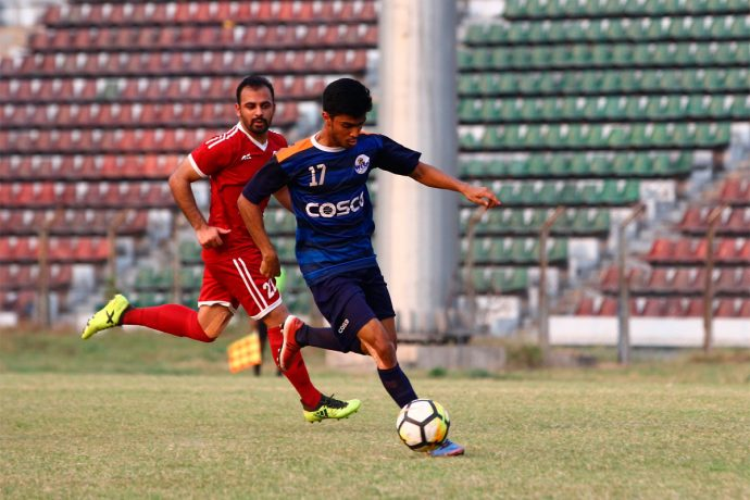 Maharashtra sink Chandigarh's Santosh Trophy semifinal hopes (Photo courtesy: AIFF Media)