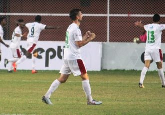 Mohun Bagan win at Churchill Brothers to keep I-League title hopes alive (Photo courtesy: I-League Media)