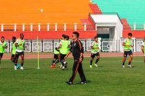 NEROCA FC coach Gift Raikhan (Photo courtesy: AIFF Media)
