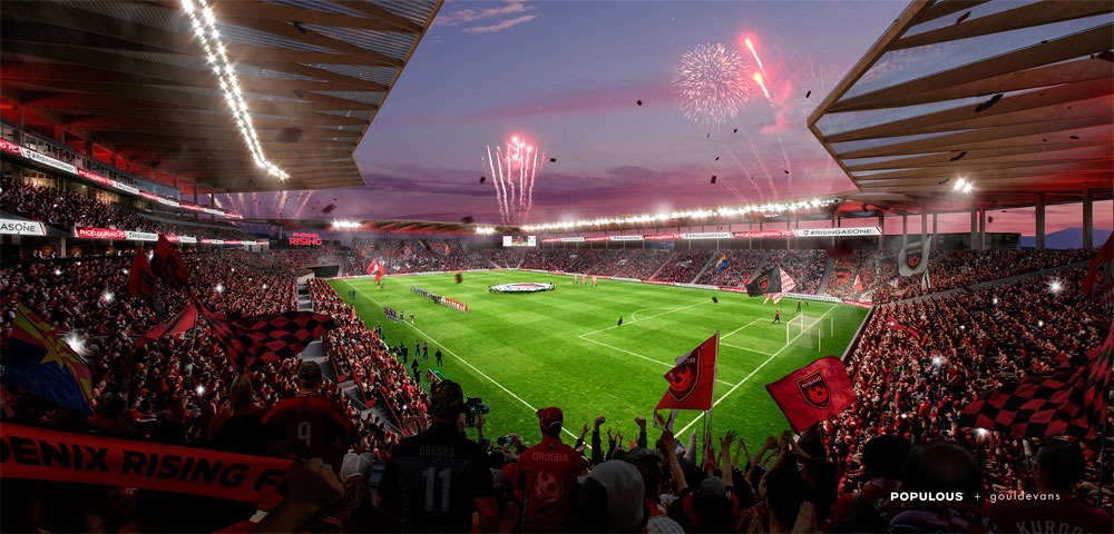 Phoenix Rising FC offers sneak peak of proposed MLS stadium (Photo courtesy: Phoenix Rising FC)