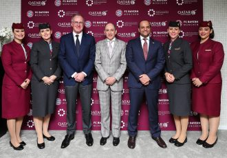 Qatar Airways becomes Platinum Partner of FC Bayern Munich (Photo courtesy: Qatar Airways)