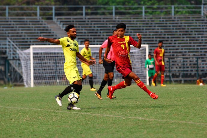 West Bengal edge past Chandigarh 1-0 to continue winning run in 2018 Santosh Trophy (Photo courtesy: AIFF Media)