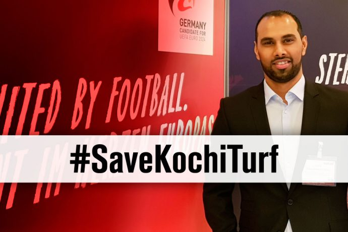 #SaveKochiTurf - Chris Punnakkattu Daniel ( Football Consultant, CPD Football)