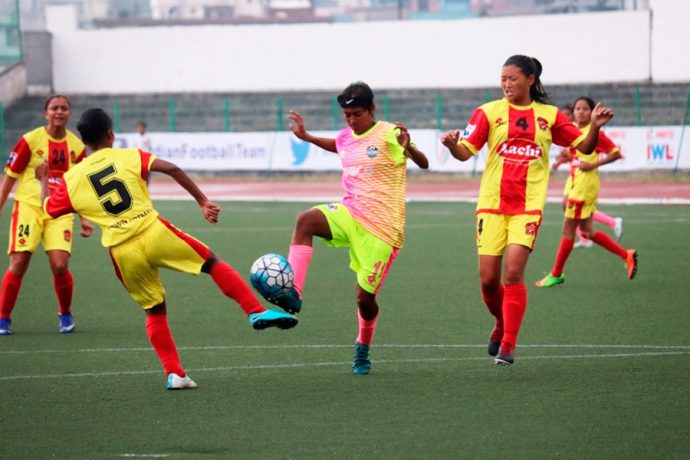 Sethu FC blank Gokulam Kerala FC 2-0 in Indian Women's League (Photo courtesy: AIFF Media)
