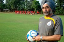 Former India coach Sukhwinder Singh (Photo courtesy: AIFF Media)