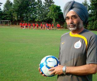 Former India coach Sukhwinder Singh (Photo courtesy: AIFF Media)