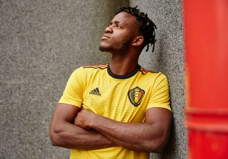 Belgium away jersey by adidas for the 2018 FIFA World Cup. (Photo courtesy: adidas)