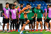 Bengaluru FC's training session at the Sree Kanteerava Stadium (Photo courtesy: Bengaluru FC)