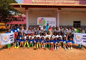 Dempo Sports Club celebrate AFC Women's Day (Photo courtesy: Dempo SC)
