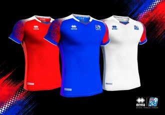 Inspired by nature's elements: The new Iceland kit by Erreà (Photo courtesy: Erreà)