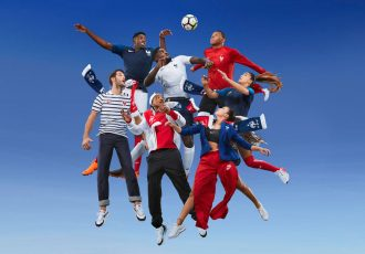 Elegance and innovation position Les Bleus for Russia (Photo courtesy: Nike)