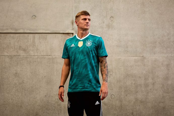 Germany away jersey by adidas for the 2018 FIFA World Cup. (Photo courtesy: adidas)