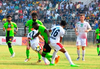 I-League: Henry's strike causes heartbreak for Mohun Bagan against Gokulam Kerala in Kozhikode (Photo courtesy: I-League Media)