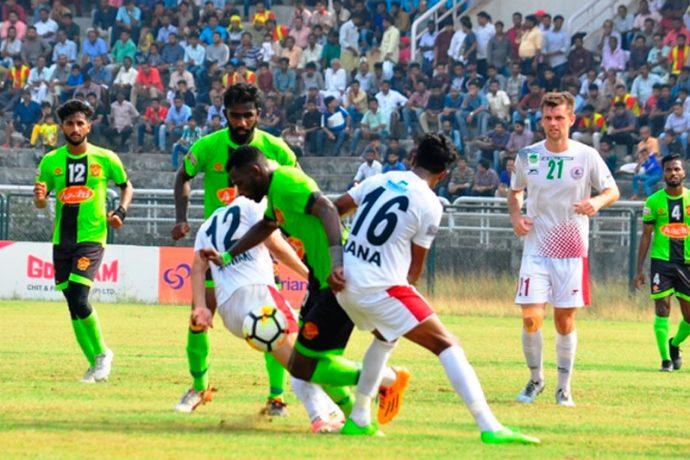 I-League: Henry's strike causes heartbreak for Mohun Bagan against Gokulam Kerala in Kozhikode (Photo courtesy: I-League Media)