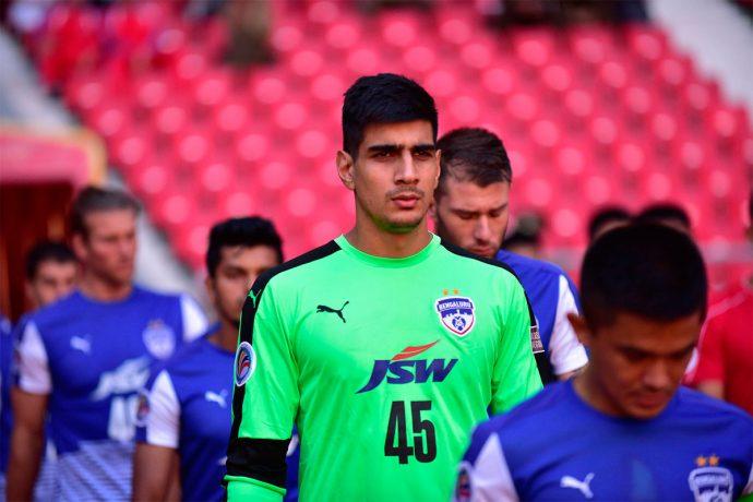 Bengaluru FC goalkeeper Gurpreet Singh Sandhu (Photo courtesy: Bengaluru FC)