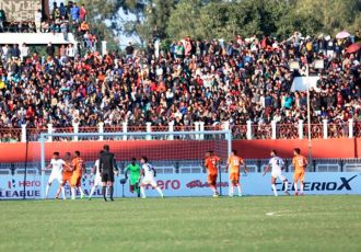 I-League match action (Photo courtesy: I-League Media)