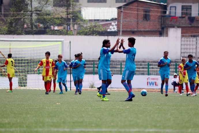 Rising Students Club take three points as they blank Gokulam 2-0 (Photo courtesy: AIFF Media)