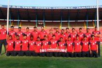 Jamshedpur FC Reserves Team (Photo courtesy: Tata Steel)