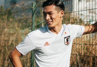 Japan away jersey by adidas for the 2018 FIFA World Cup. (Photo courtesy: adidas)