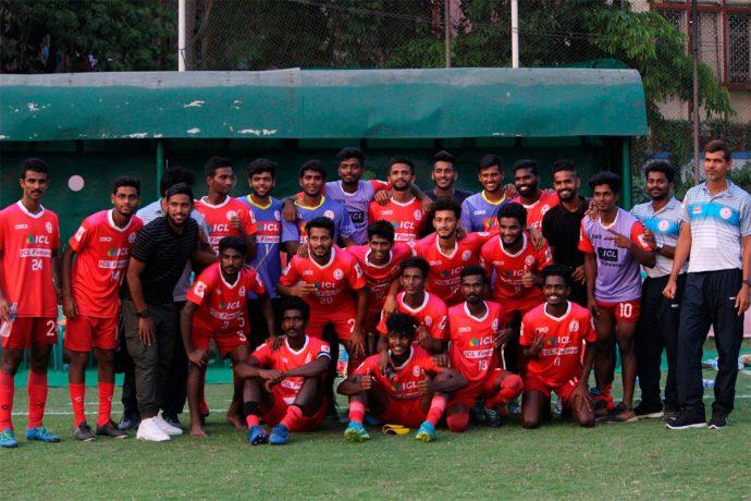 Kerala State Team for the 2018 Santosh Trophy (Photo courtesy: AIFF Media)
