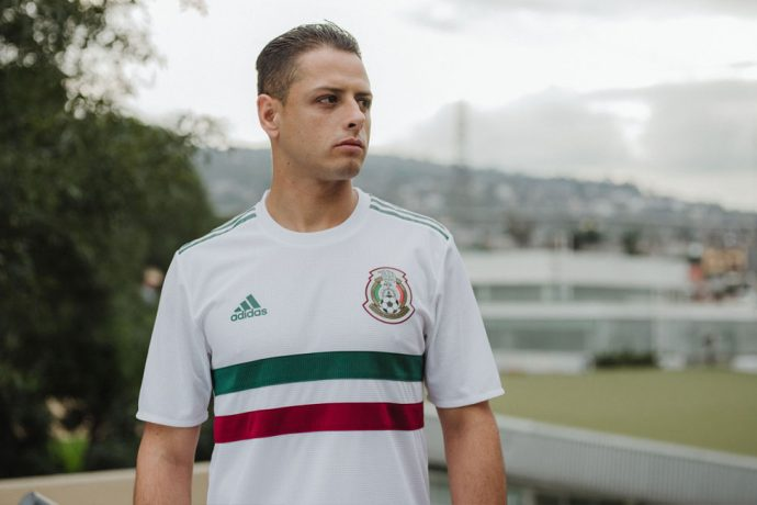 Mexico away jersey by adidas for the 2018 FIFA World Cup. (Photo courtesy: adidas)