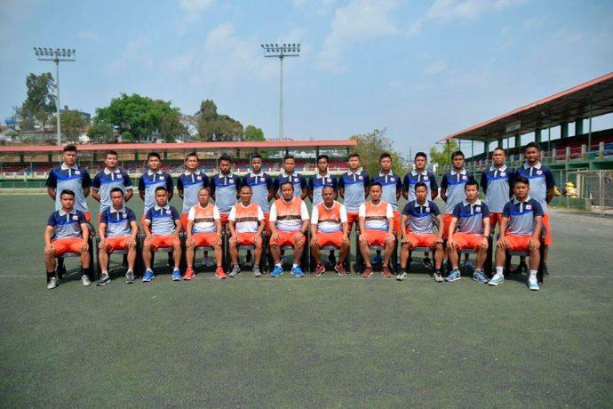 Mizoram State Team for the 2018 Santosh Trophy (Photo courtesy: Mizoram Football Association)
