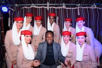 Emirates global ambassador, Pelé, at the CVC convention in Dubai. The event, attended by over 1,500 of Brazil's top travel agents helped showcase Dubai's latest tourism attractions and services, and promote the city to Brazilian travellers. (Photo courtesy: Emirates)