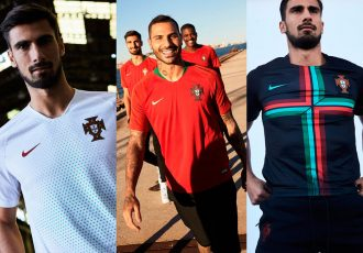 Portugal's new Nike kits Flash Gold and Kinetic Green (Photos courtesy: Nike)