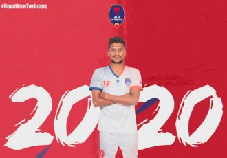 Romeo Fernandes extends stay with Delhi Dynamos (Image courtesy: Delhi Dynamos FC)
