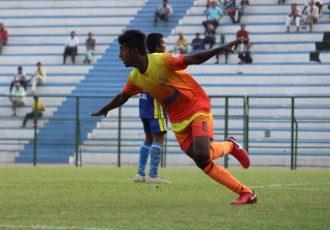 Karnataka demolish Goa 4-1 in Santosh Trophy Group B (Photo courtesy: AIFF Media)