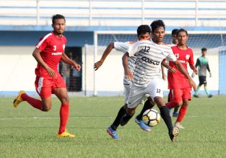 Maharashtra pump in seven past Manipur in Santosh Trophy (Photo courtesy: AIFF Media)