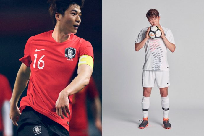 The Red Devils 2018 collection is so fresh and So Korea (Photo courtesy: Nike)