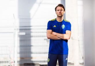 Sweden away jersey by adidas for the 2018 FIFA World Cup. (Photo courtesy: adidas)