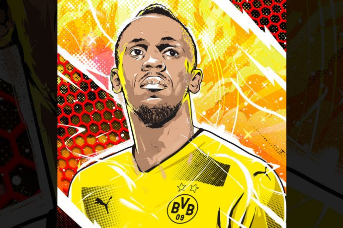 "Usain Bolt gearing up for Borussia Dortmund ""trial"" on Friday (Image courtesy: Usain Bolt via Twitter)"