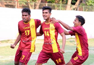 West Bengal rout Maharashtra to notch up second win in 2018 Santosh Trophy. (Photo courtesy: AIFF Media)