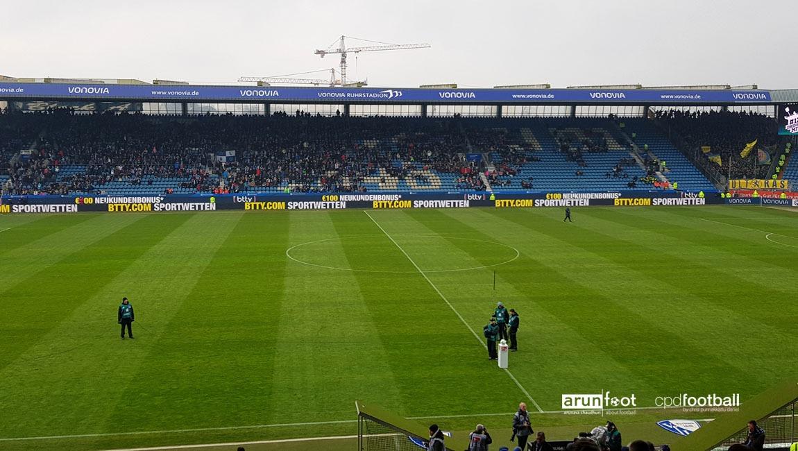 Bundesliga 2 matchday VfL Bochum vs Eintracht Braunschweig at the Ruhrstadion. (© arunfoot & CPD Football)