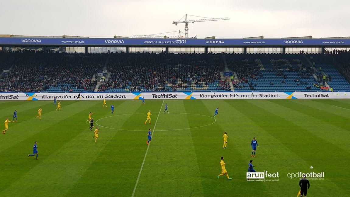 Bundesliga 2 match action between VfL Bochum and Eintracht Braunschweig. (© arunfoot & CPD Football)