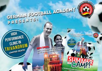 German Football Academy to conduct high performance clinic in Trivandrum