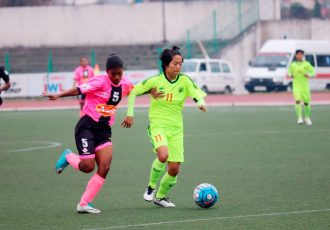 KRYHPSA steam past Gokulam Kerala FC in IWL (Photo courtesy: AIFF Media)