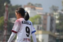 Eastern Sporting Union star Kamala Devi during an Indian Women's League (IWL) encounter. (Photo courtesy: AIFF Media)